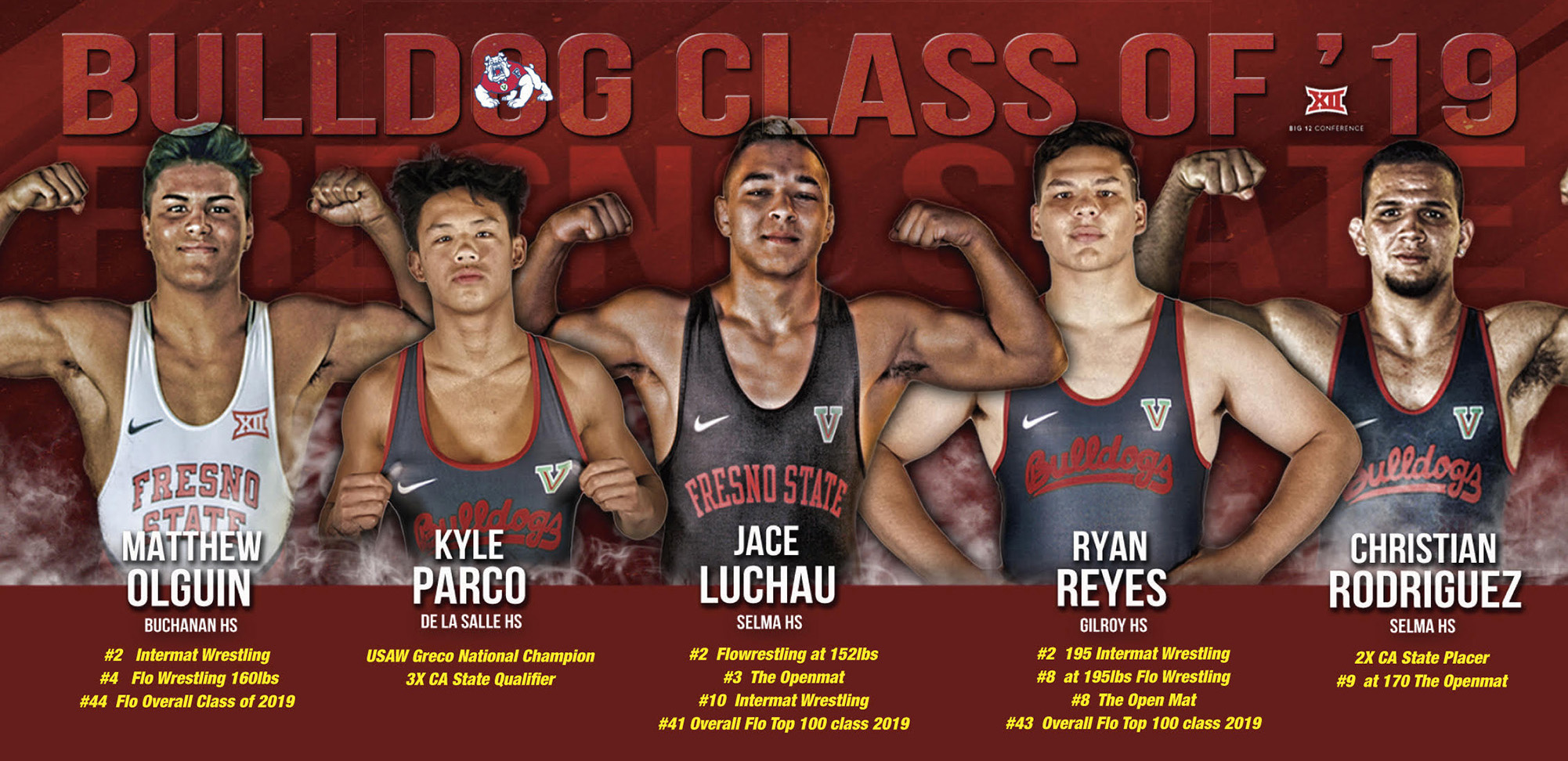 Fresno State Wrestling signs five in fall signing period