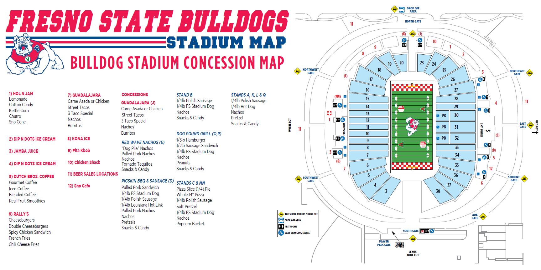 Bulldog Stadium Game Day Guide: Sept. 29 - Fresno State ... on fresno state school map, fresno state football field, penn state stadium map, san jose state stadium map, fresno state football stadium, fresno state stadium chairs, fresno state stadium seating chart, fresno state stadium expansion, ball state stadium map, fresno state parking lot map, oregon state stadium map, fresno state stadium capacity, washington state stadium map, fresno state bulldog stadium, fresno state concert hall map, fresno state building map, michigan state stadium map, nc state stadium map, fresno state football seating, georgia state stadium map,